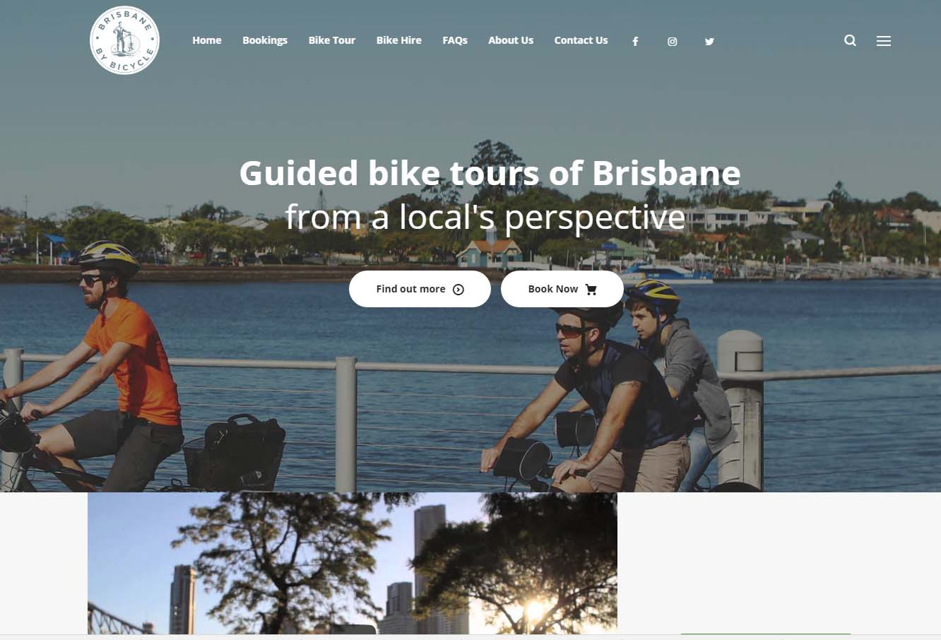 bike tours brisbane